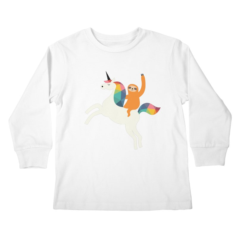 Magic Time Kids Longsleeve T-Shirt by andywestface's Artist Shop