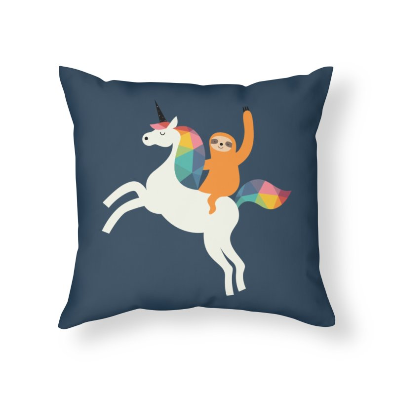 Magic Time Home Throw Pillow by andywestface's Artist Shop