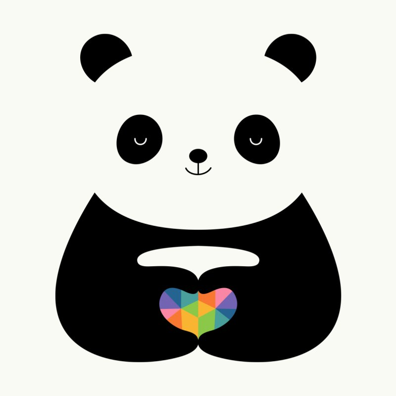 Panda Love by andywestface's Artist Shop