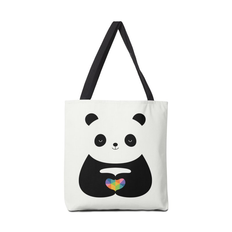 Panda Love Accessories Bag by andywestface's Artist Shop