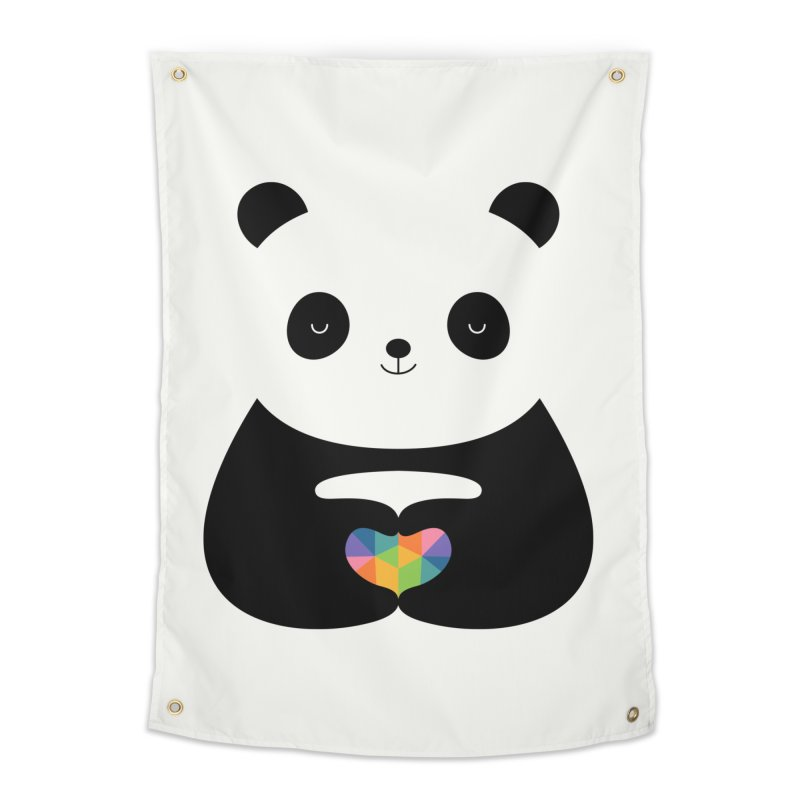 Panda Love Home Tapestry by andywestface's Artist Shop