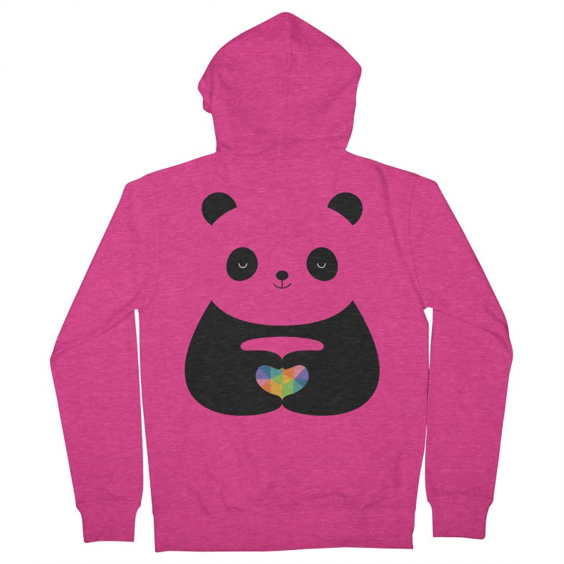 Panda Love Women's Zip-Up Hoody by andywestface's Artist Shop