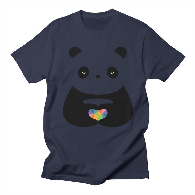 Panda Love Women's Unisex T-Shirt by andywestface's Artist Shop