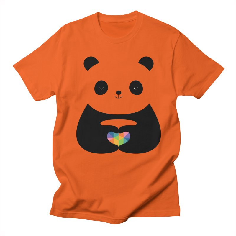 Panda Love Men's T-Shirt by andywestface's Artist Shop