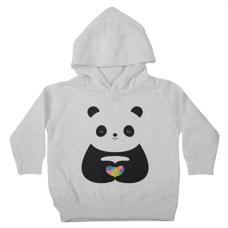 Panda Love Kids Toddler Pullover Hoody by andywestface's Artist Shop