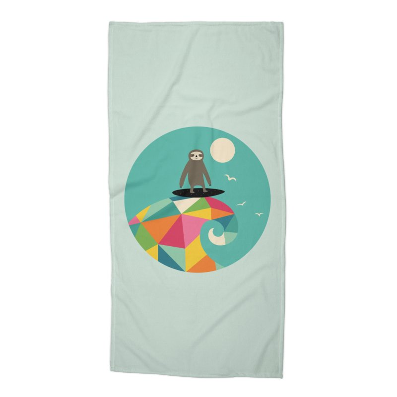 Surfs Up Accessories Beach Towel by andywestface's Artist Shop