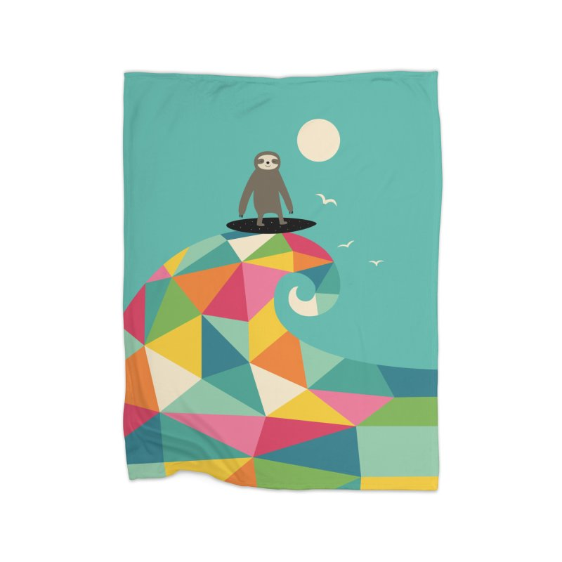 Surfs Up Home Blanket by andywestface's Artist Shop
