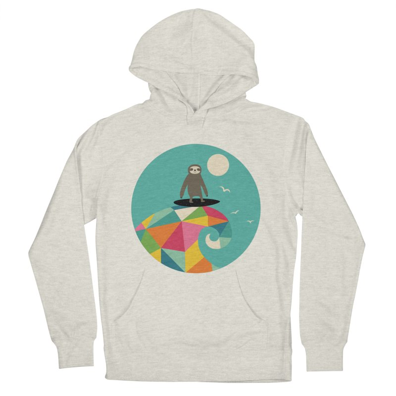 Surfs Up Men's Pullover Hoody by andywestface's Artist Shop