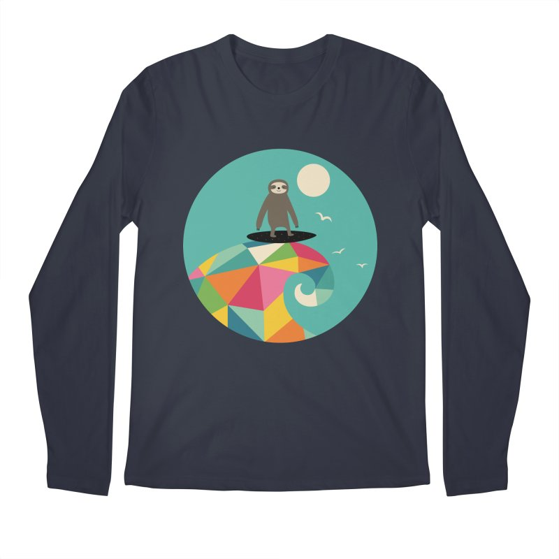 Surfs Up Men's Regular Longsleeve T-Shirt by andywestface's Artist Shop