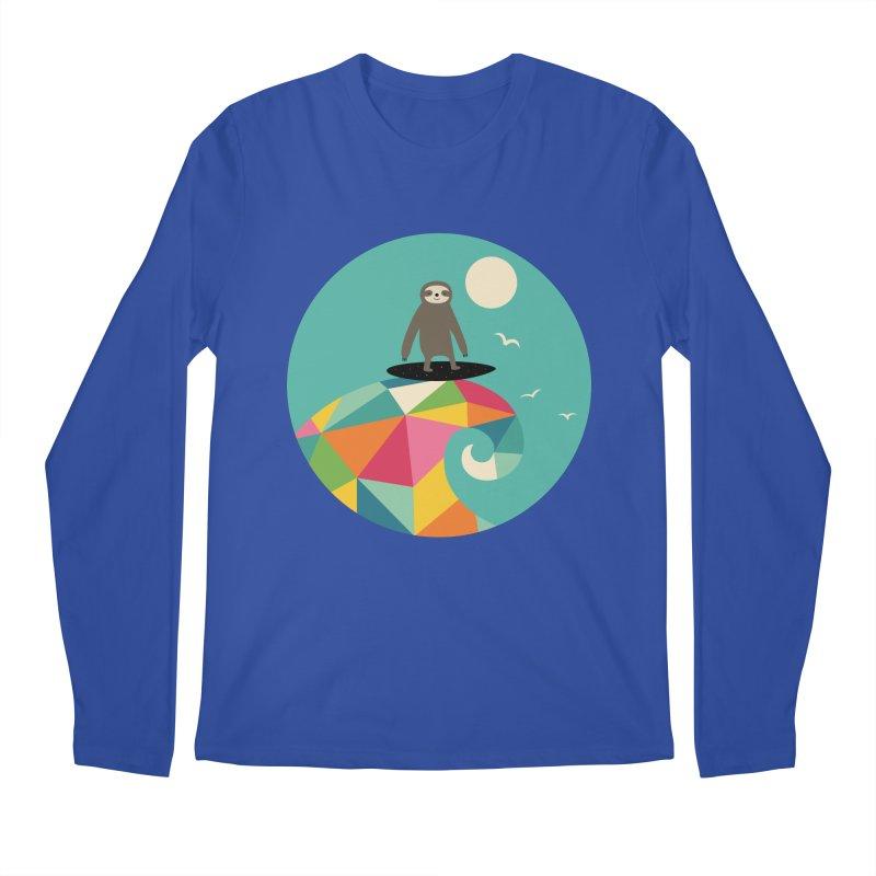 Surfs Up Men's Regular Longsleeve T-Shirt by andywestface's Artist Shop