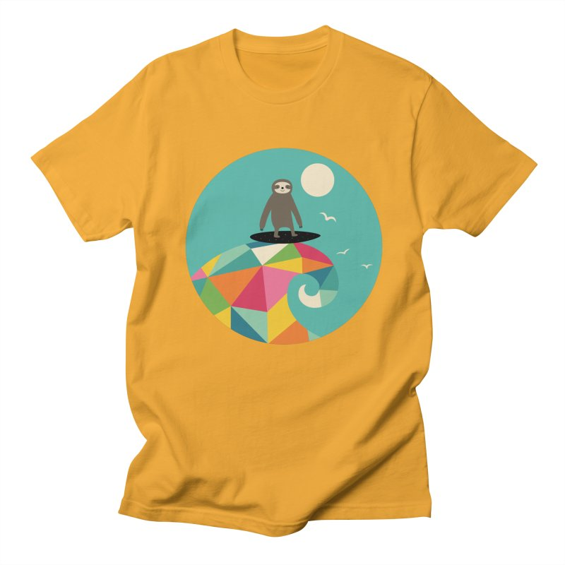 Surfs Up Men's T-Shirt by andywestface's Artist Shop