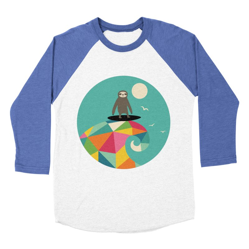 Surfs Up Women's Baseball Triblend Longsleeve T-Shirt by andywestface's Artist Shop