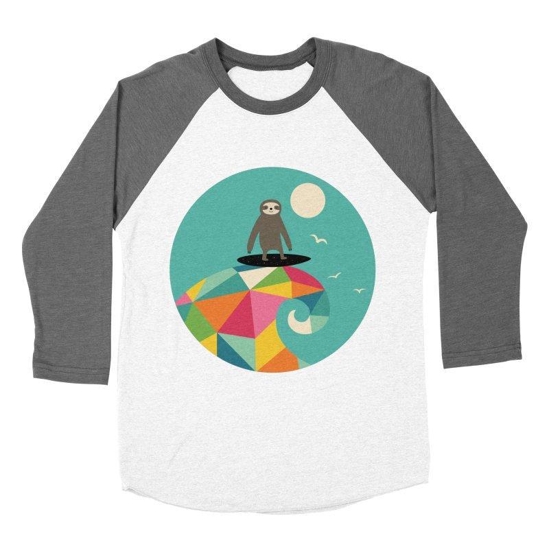 Surfs Up Men's Baseball Triblend T-Shirt by andywestface's Artist Shop