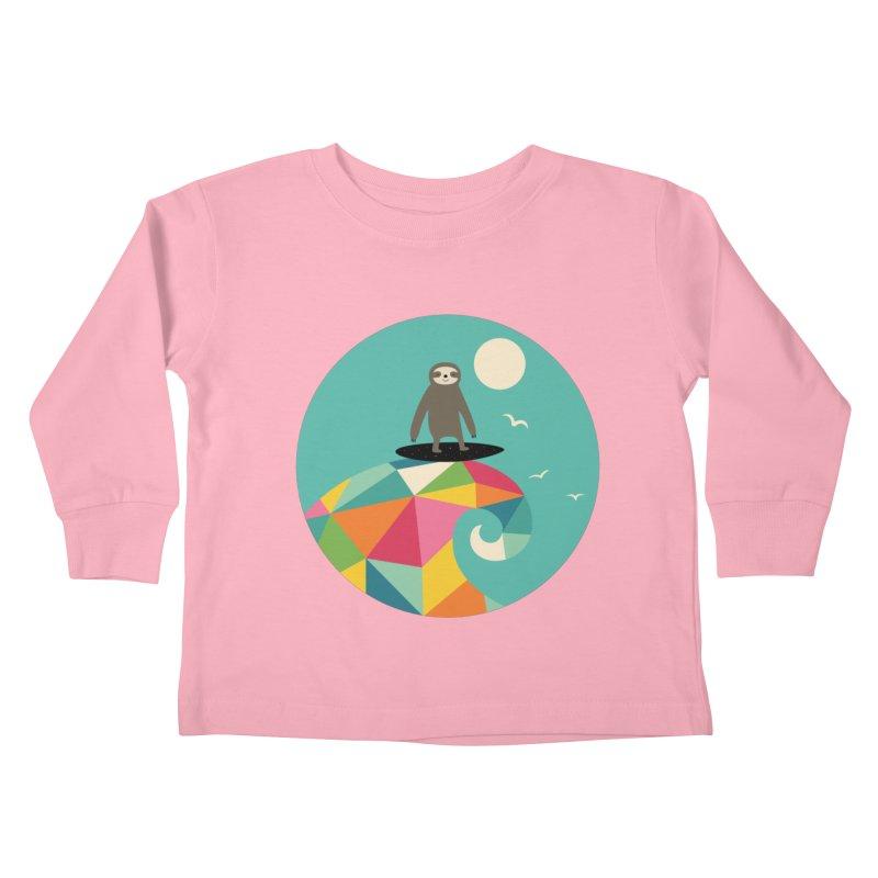 Surfs Up Kids Toddler Longsleeve T-Shirt by andywestface's Artist Shop