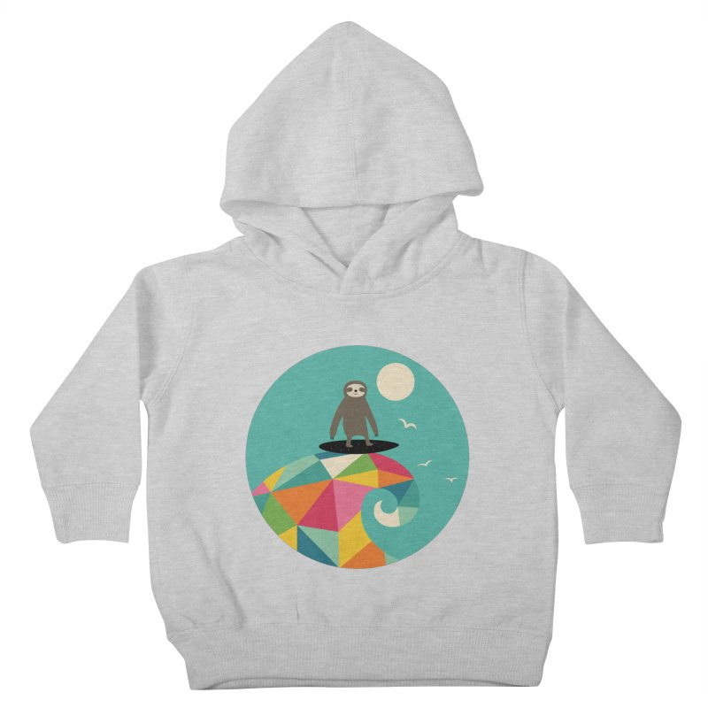 Surfs Up Kids Toddler Pullover Hoody by andywestface's Artist Shop