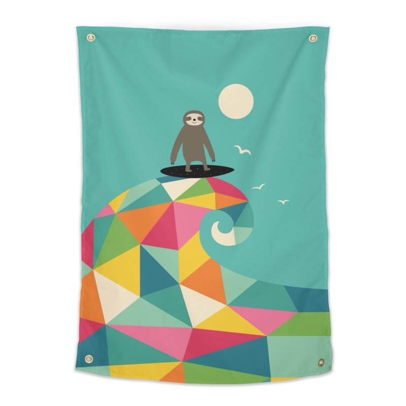 Surfs Up Home Tapestry by andywestface's Artist Shop
