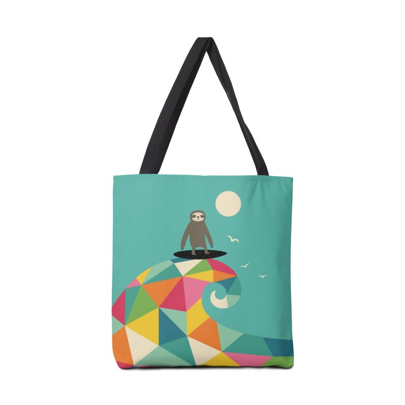 Surfs Up Accessories Bag by andywestface's Artist Shop