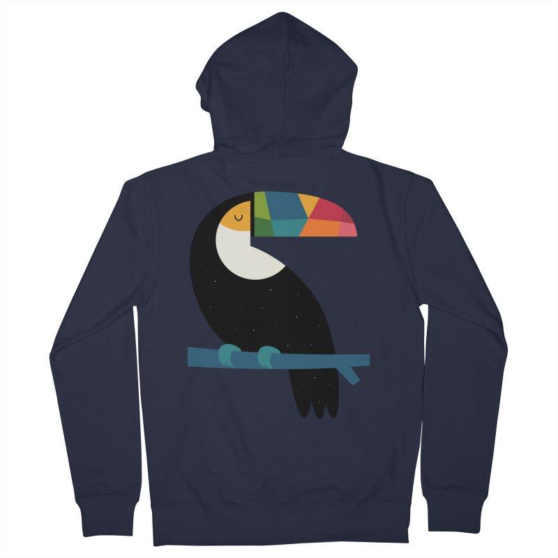 Rainbow Toucan Women's Zip-Up Hoody by andywestface's Artist Shop
