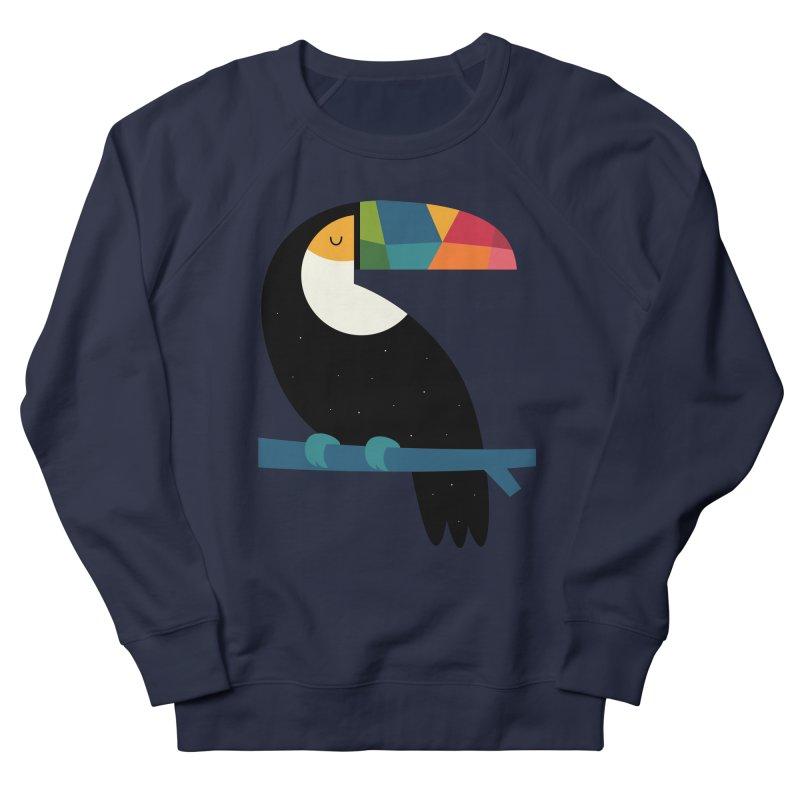 Rainbow Toucan Women's Sweatshirt by andywestface's Artist Shop
