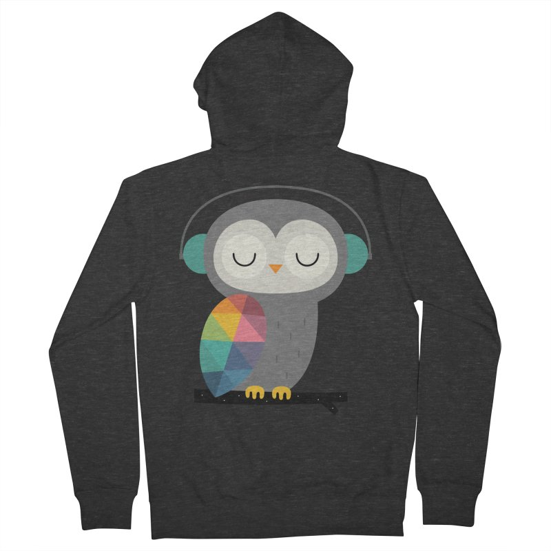 Owl Time Women's Zip-Up Hoody by andywestface's Artist Shop