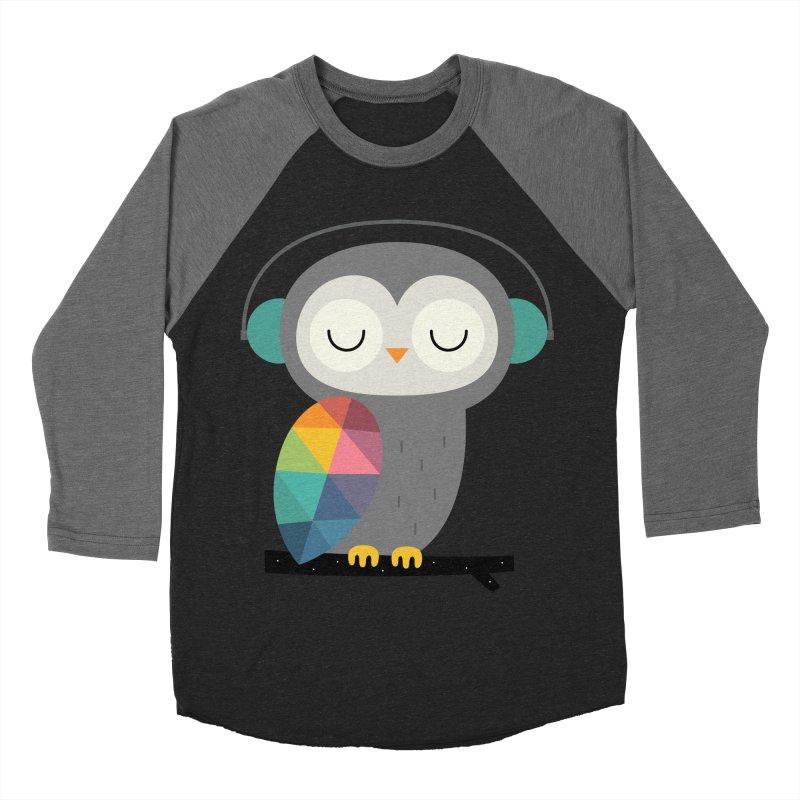 Owl Time Women's Baseball Triblend T-Shirt by andywestface's Artist Shop