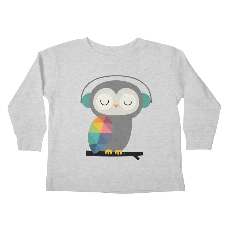 Owl Time Kids Toddler Longsleeve T-Shirt by andywestface's Artist Shop