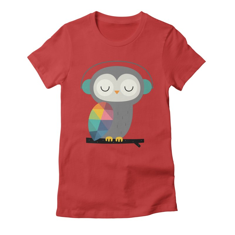 Owl Time Women's  by andywestface's Artist Shop