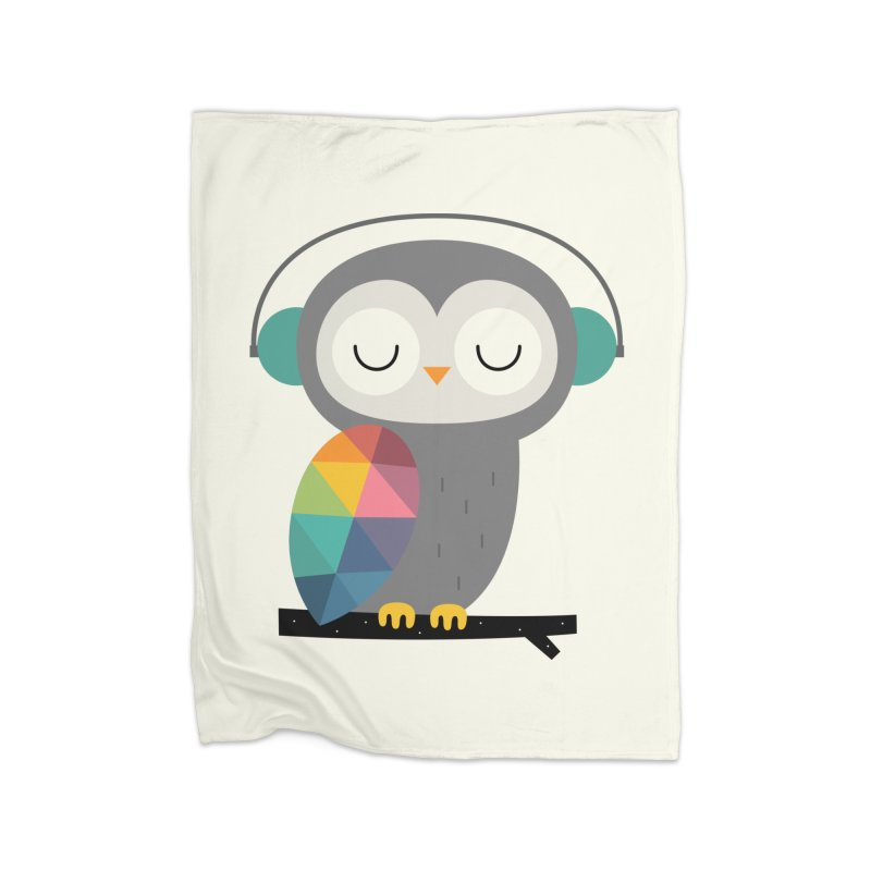 Owl Time Home Blanket by andywestface's Artist Shop
