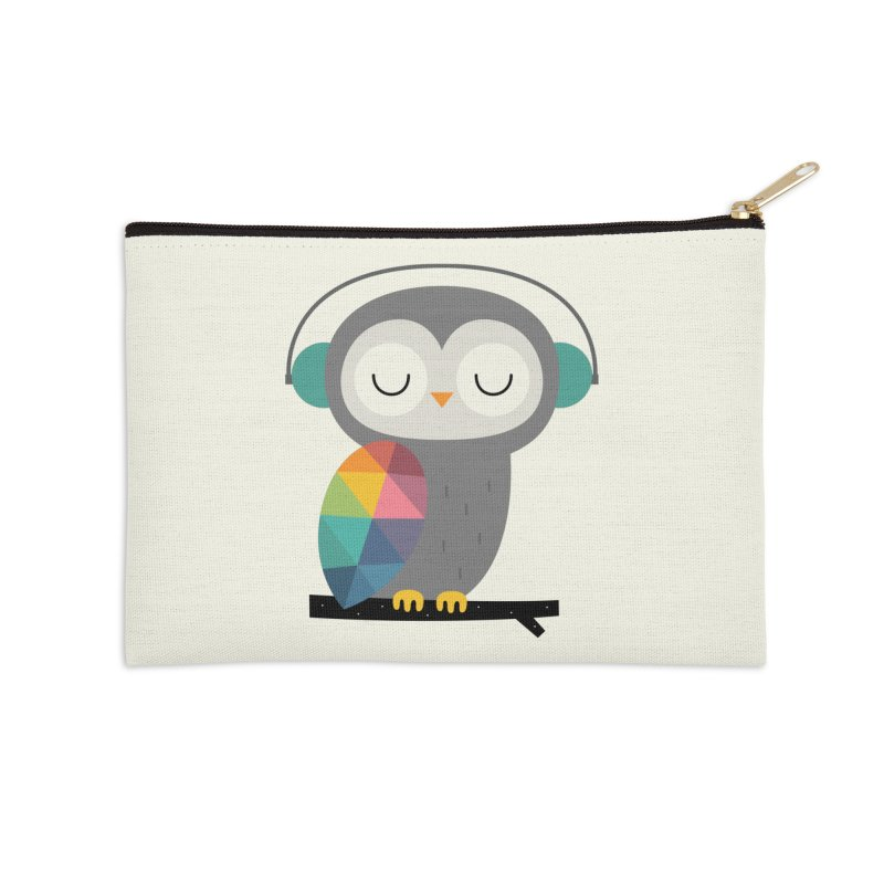 Owl Time Accessories Zip Pouch by andywestface's Artist Shop