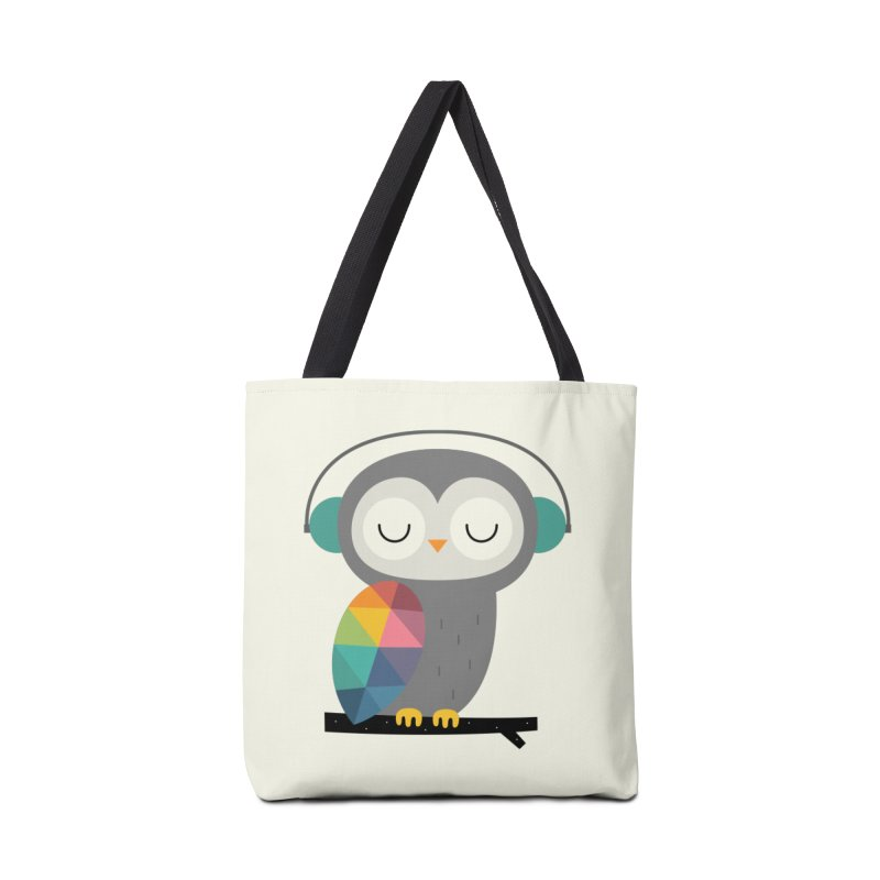 Owl Time Accessories Bag by andywestface's Artist Shop