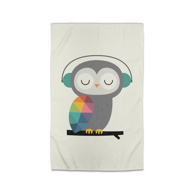 Owl Time Home Rug by andywestface's Artist Shop