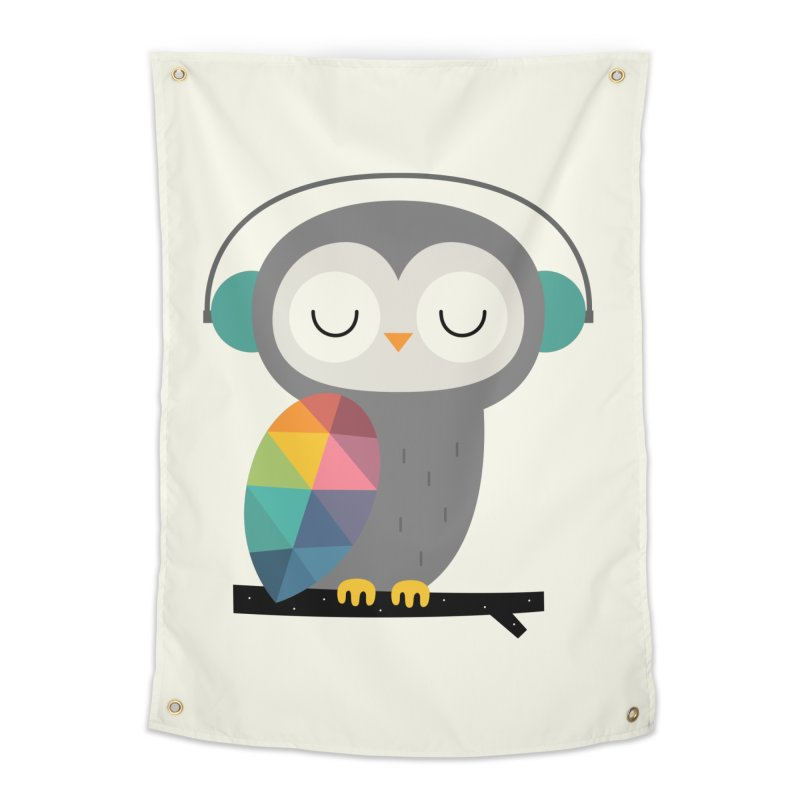 Owl Time Home Tapestry by andywestface's Artist Shop