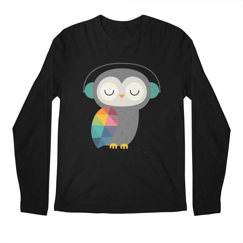 Owl Time Men's Regular Longsleeve T-Shirt by andywestface's Artist Shop