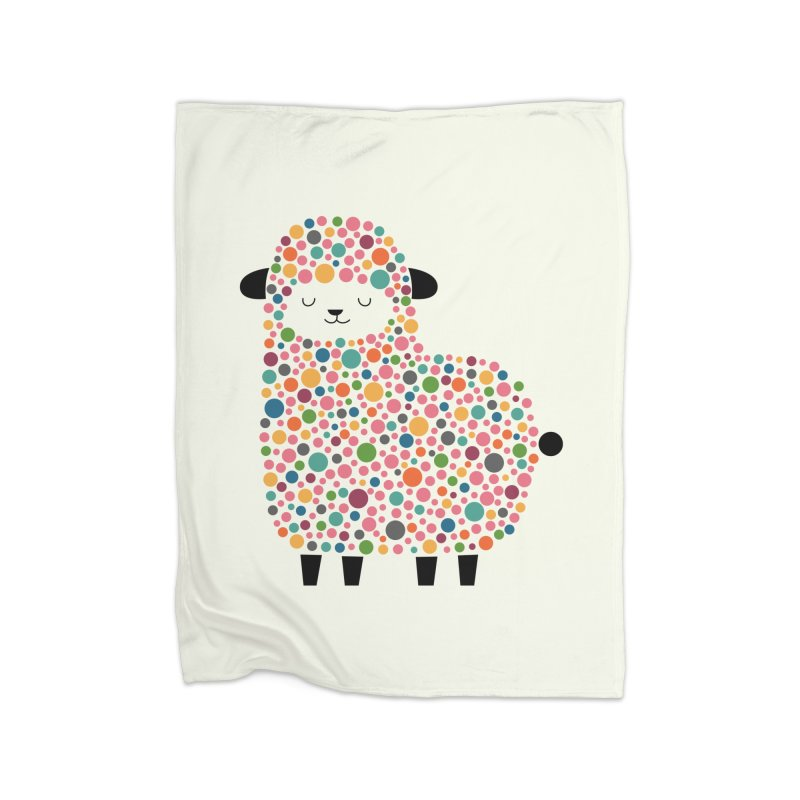 Bubble Sheep Home Blanket by andywestface's Artist Shop