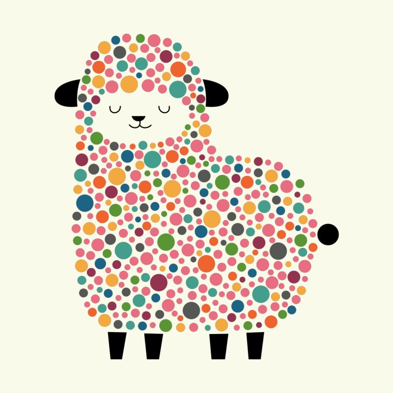 Bubble Sheep by andywestface's Artist Shop