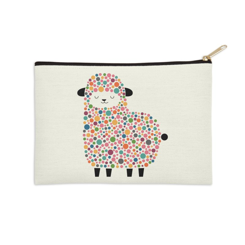 Bubble Sheep Accessories Zip Pouch by andywestface's Artist Shop