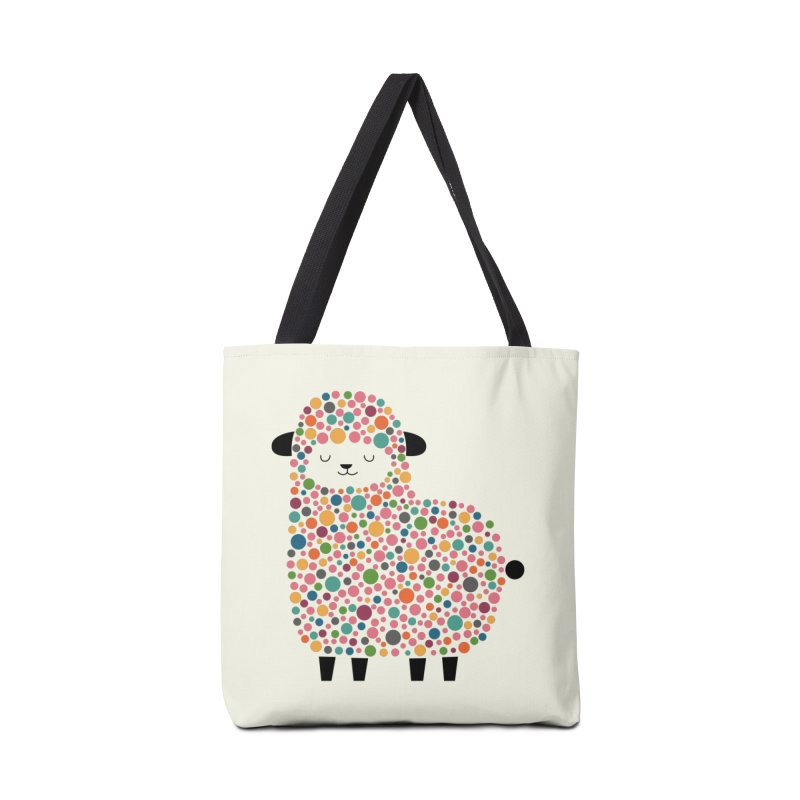 Bubble Sheep Accessories Bag by andywestface's Artist Shop