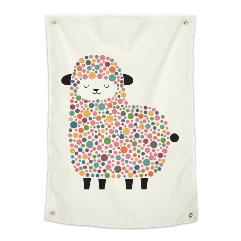 Bubble Sheep Home Tapestry by andywestface's Artist Shop