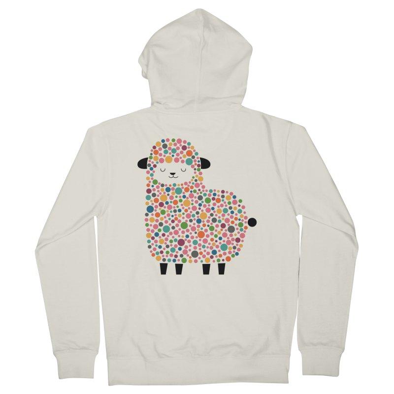 Bubble Sheep Men's Zip-Up Hoody by andywestface's Artist Shop