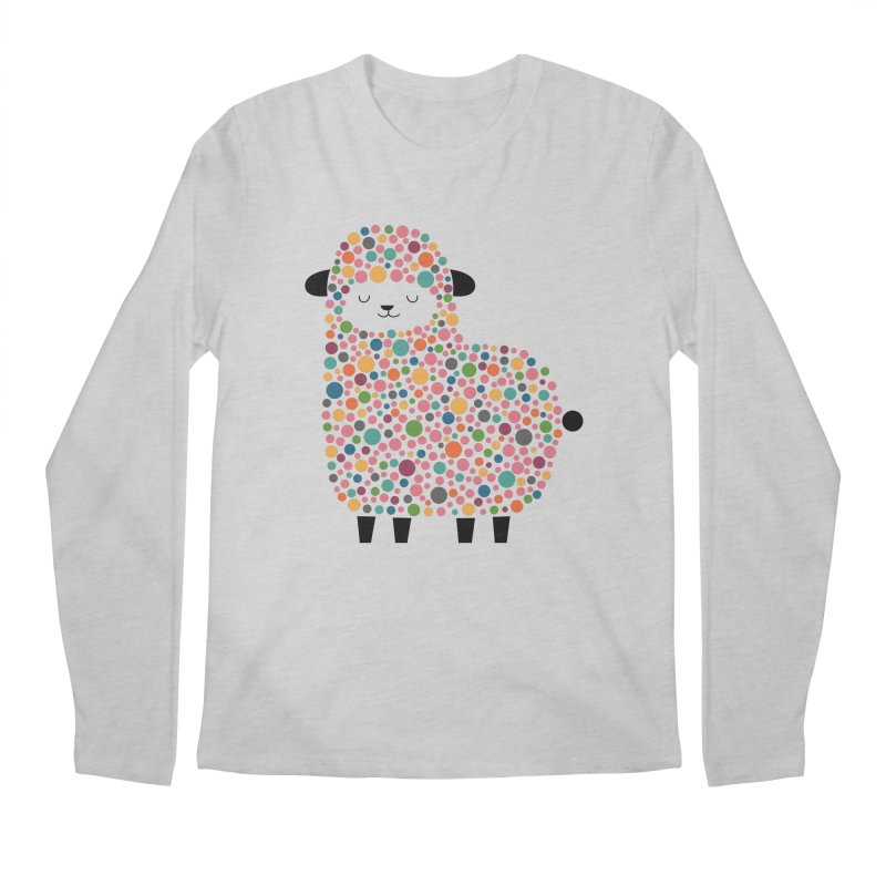 Bubble Sheep Men's Regular Longsleeve T-Shirt by andywestface's Artist Shop