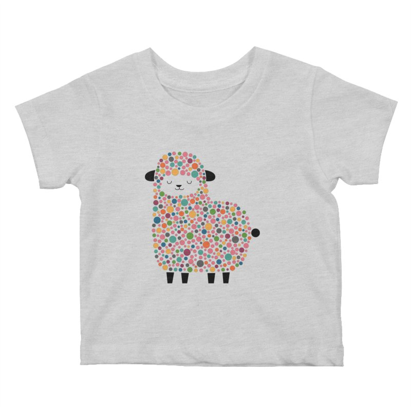 Bubble Sheep Kids Baby T-Shirt by andywestface's Artist Shop