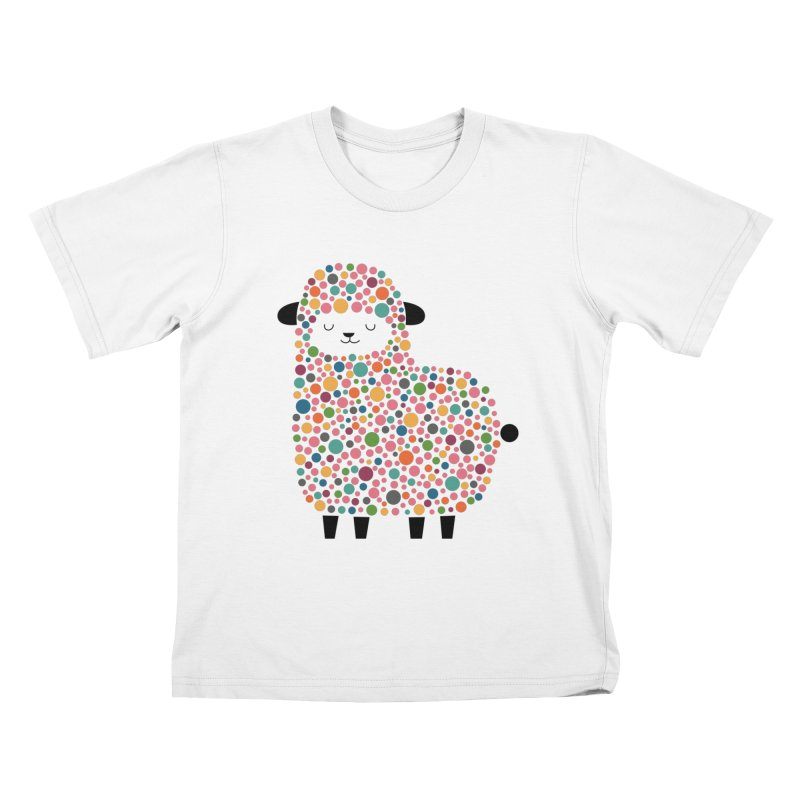 Bubble Sheep Kids T-Shirt by andywestface's Artist Shop