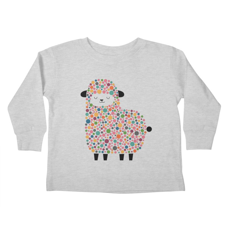 Bubble Sheep Kids Toddler Longsleeve T-Shirt by andywestface's Artist Shop