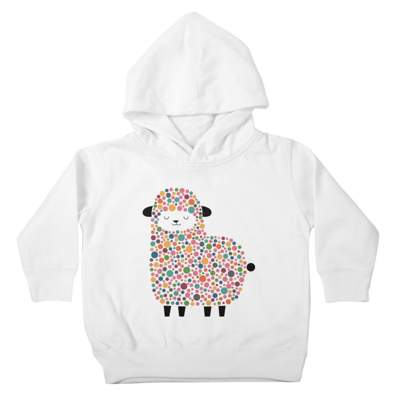 Bubble Sheep Kids Toddler Pullover Hoody by andywestface's Artist Shop