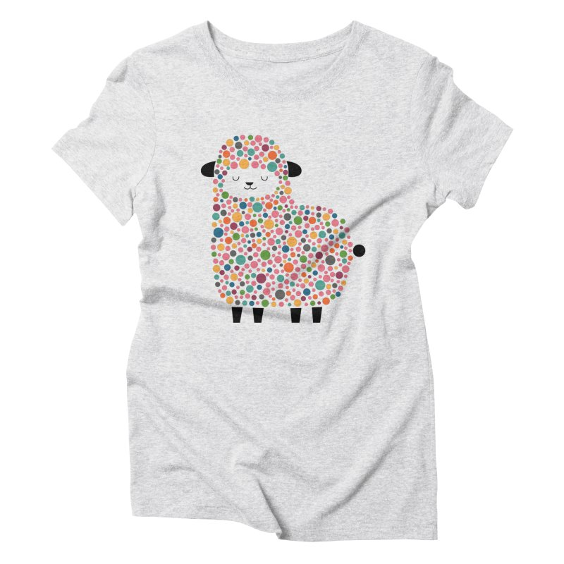 Bubble Sheep Women's Triblend T-Shirt by andywestface's Artist Shop
