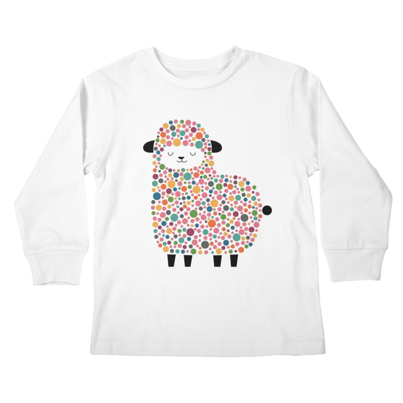 Bubble Sheep Kids Longsleeve T-Shirt by andywestface's Artist Shop