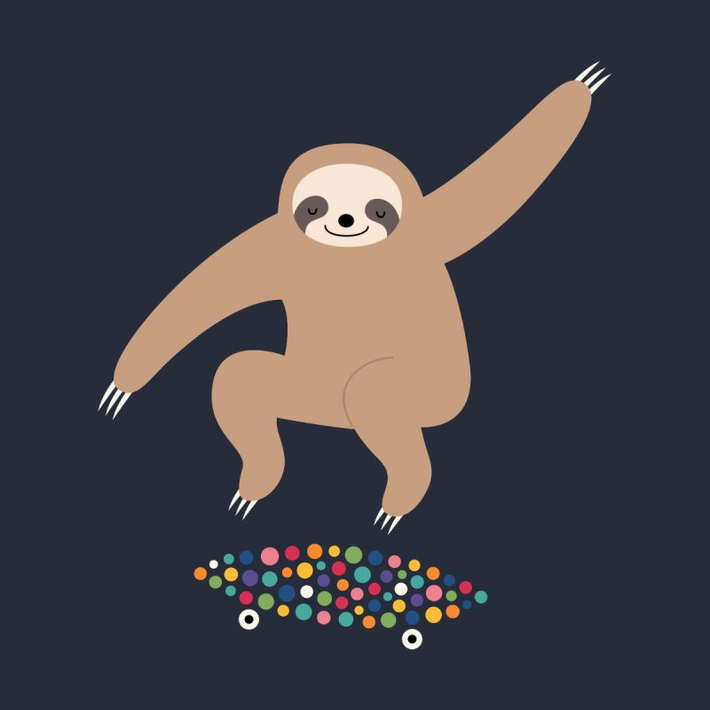 Sloth Gravity   by andywestface's Artist Shop
