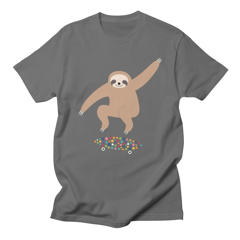 Sloth Gravity Men's T-Shirt by andywestface's Artist Shop