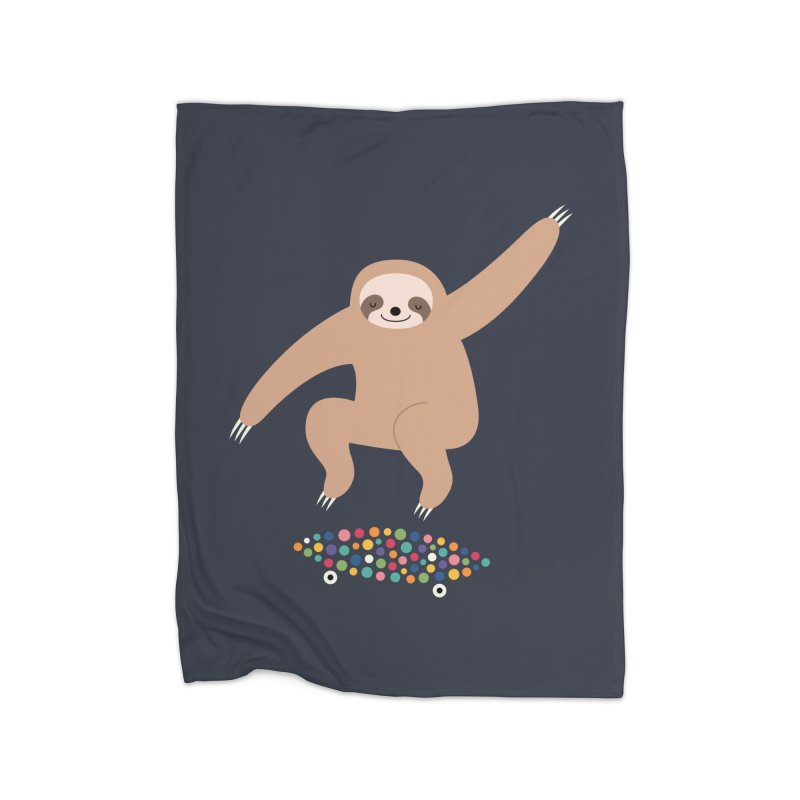 Sloth Gravity Home Blanket by andywestface's Artist Shop