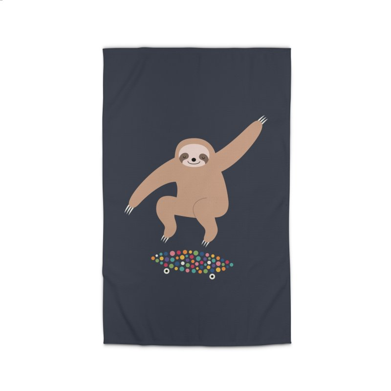 Sloth Gravity Home Rug by andywestface's Artist Shop